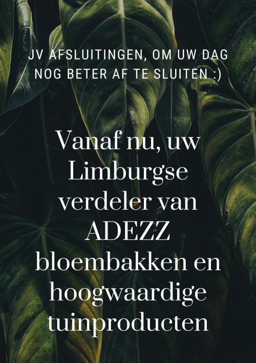 ADEZZ grote bloembakken Limburg